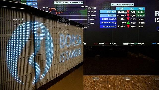 Borsa ilk işlem gününde yükseliş yaşadı